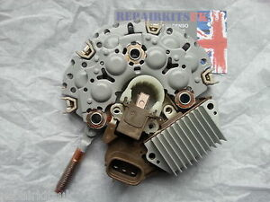 TOYOTA-DENSO-ALTERNATOR-REGULATOR-RECTIFIER-BRUSHBOX-27060-67030-101211-5780