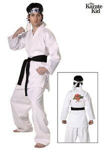 Adult-Authentic-Karate-Kid-Daniel-San-Costume-SIZE-XL-Used