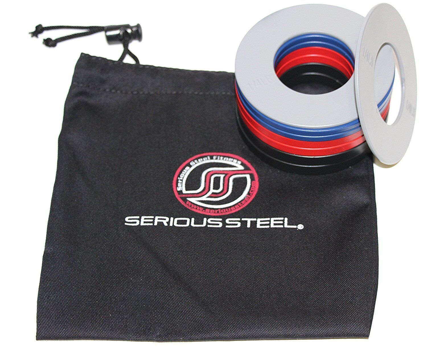 Serious Steel Fitness Fractional Plates  (W  Bag)   Microloading Steel Plates  take up to 70% off