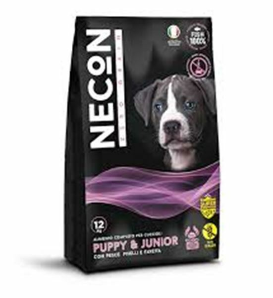 CROCCHETTE mangime PUPPY JUNIOR ZERO GRANO ATLETIC 12kg necon CUCCIOLO NO grain