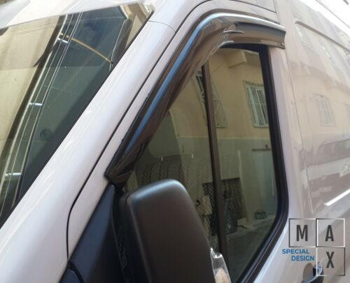 DODGE RAM PROMASTER 2014-2019 WIND DEFLECTOR VENT RAIN GUARD-WINDOWS VISOR