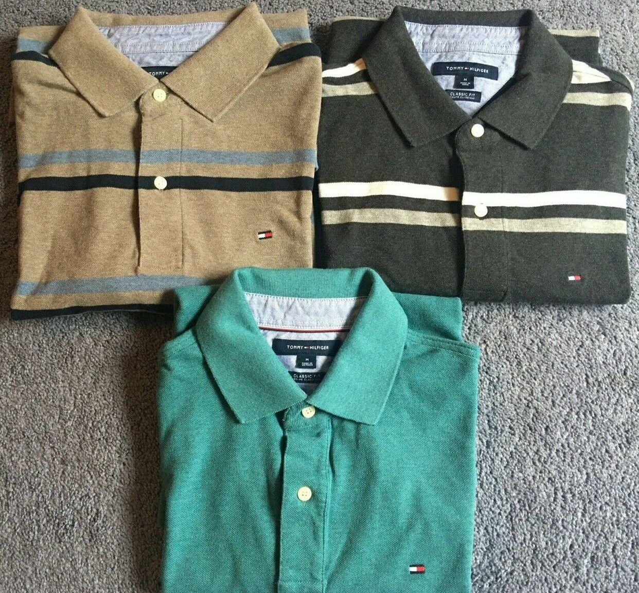 Tommy Hilfiger Men's Classic-Fit Polo Shirts size… - image 6