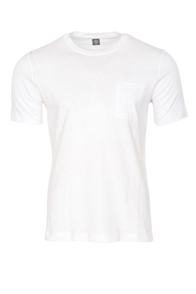 Eleventy T-Shirt  Herren 3XL  Bianco cotone  tinta unita