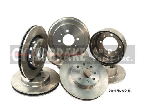 31323 FRONT Brake Rotor Pair of 2 Fits 02-07 Suzuki Aerio