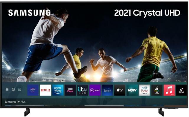 "Samsung 2021 43"" AU8000 Crystal UHD 4K HDR Smart TV Dynamic Crystal Colour"