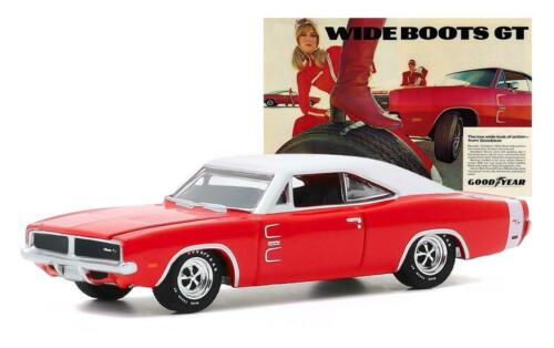 GREENLIGHT 30196 1969 Dodge Charger Diecast Model Car 1:64