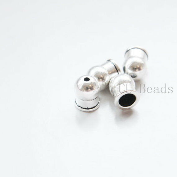 12pcs Oxidized Silver Tone Base Metal Findings - Cap/Cone 11x9mm (19669Y-C-380)