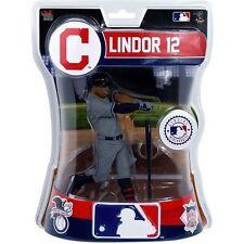 "Francisco Lindor Cleveland Indians Imports Dragon Baseball Action Figure 6"""