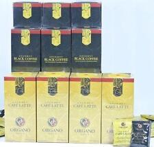 10 Boxes Organo Gold Gourmet Black Coffee (6) Cafe Latte (4) Organic Ganoderma
