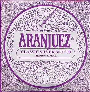 1 Satz Klassikgitarren-Saiten Aranjuez Classic Golden Set 600 High Tension