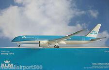 Hogan Wings 1:200 Boeing 787-9 KLM Airlines new colors + Herpa Wings Katalog