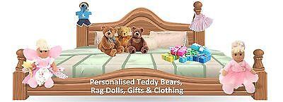 Personalised Bears and Rag Dolls