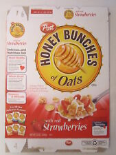 post honey bunches of oats cereal with real strawberries 13 oz ebay