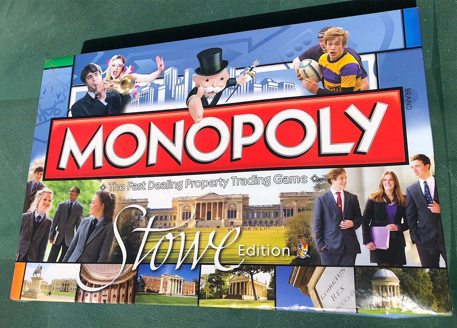 Rare Edition Monopoly STOWE by Hasbro Family Board Game 2012- NEW & SEALED