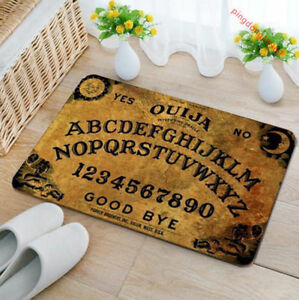 75x45cm Ouija Board Spirit Magick Non Slip Indoor Outdoor Door Mat