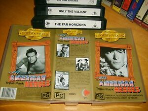 ALL-AMERICAN-HEROES-Australian-Golden-Years-Collectors-Edition-VHS-Box-Set