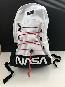 Details about Vans x NASA Snag plus Backpack White New With Tags