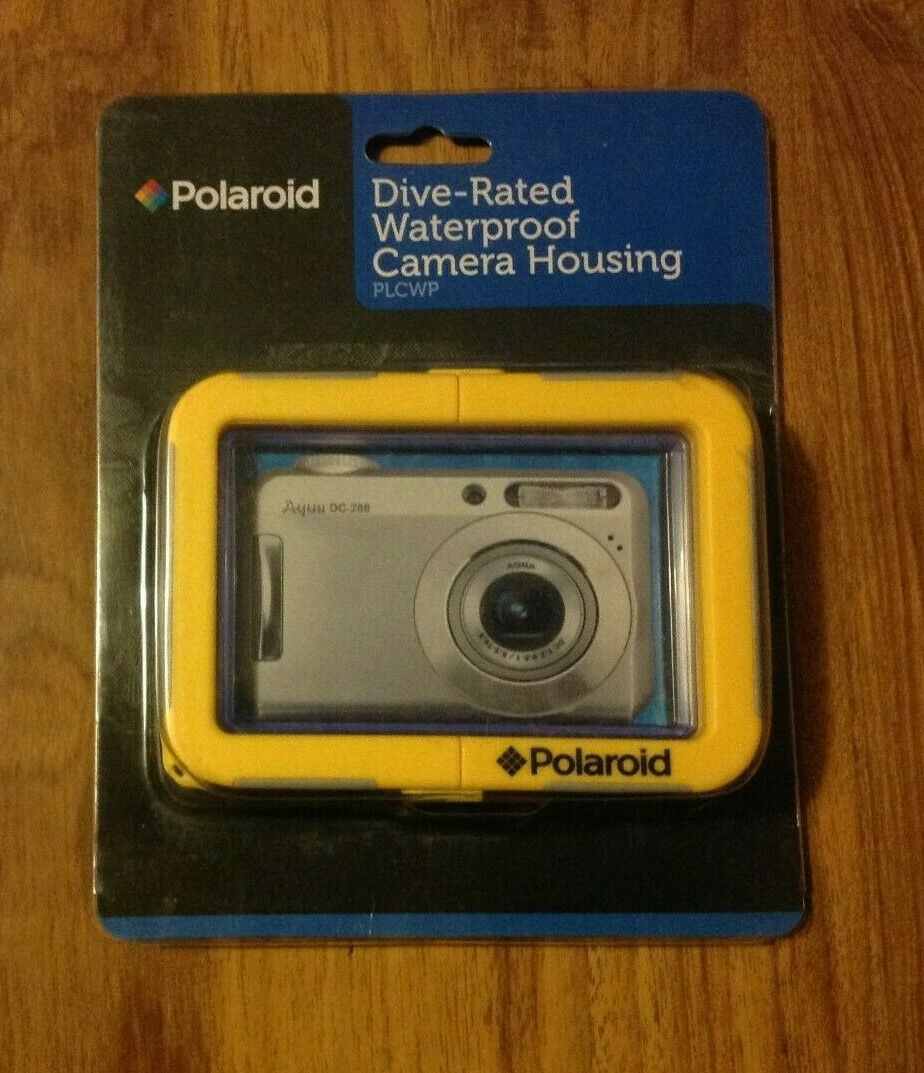 Polaroid Dive-Rated Waterproof FIXED Lens Camera Housing PLCWP. Free UK Postage