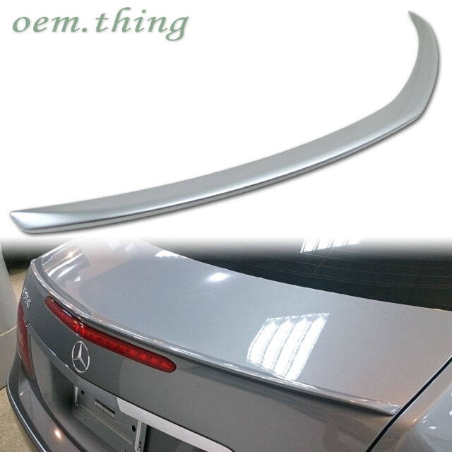 Class Coupe AMG Style Genuine Carbon Rear Spoiler Mercedes Benz C207 W207 E