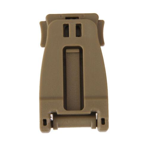 lot 10 Tactical Molle Hanging Carabiner Webbing Buckle Clip Outdoor  Tool