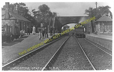 1 Bathgate Lower Railway Station Photo Livingstone Westfield.