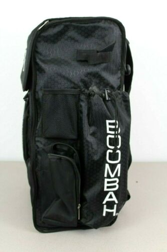 Boombah Baseball Softball Superpack MISSING FRONT FLAP Black Preowned