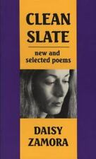 Clean Slate: New & Selected Poems (English and Spanish Edition), Zamora, Daisy,