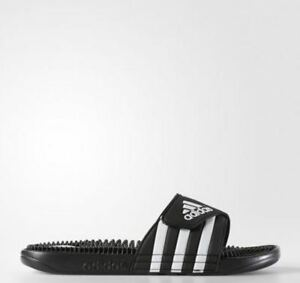 a09a924cea4 ADIDAS adissage Men black White Sandal Slippers 078260 Fast Shipping ...