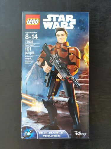 New//Sealed! 75535 Buildable Figures LEGO Star Wars Han Solo 2018