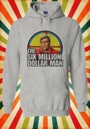 The Six Million Dollar Steve Austin Hommes Femmes Unisexe Top Sweat À Capuche Sweat 2258