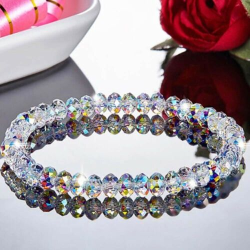 Crystal for Women Elegant Beads Bracelet Chains Bangle Jewelry Useful