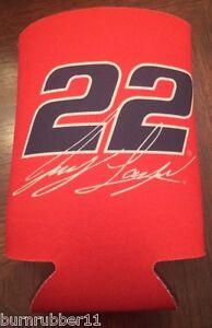 NEW-2015-JOEY-LOGANO-22-AUTOTRADER-12-OZ-CAN-COOZIE-COOLER-HUGGER-NASCAR-PENSKE