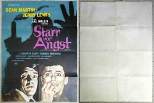 Original Filmplakat Starr vor Angst JERRY LEWIS & DEAN MARTIN