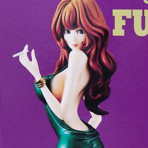 Groovy Baby Shot 4 Mine Fujiko Green Pvc Figure Banpresto LUPIN III