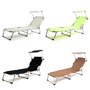 Sonnenliege-mit-Dach-Gartenliege-Strandliege-Relaxliege-Dreibeinliege-Camping