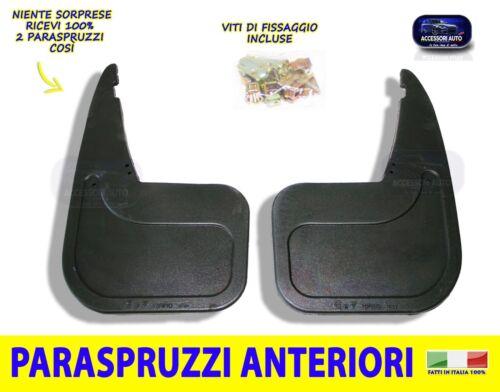Per Fiat Panda 1100 Paraspruzzi anteriori para schizzi  kit 1986/>2003 fango da 2