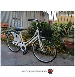 Bici-bicicletta-26-034-Olanda-da-passeggio-Bianca