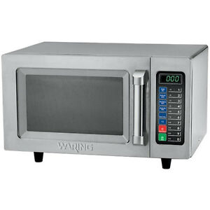 Waring Wmo120 Commercial Microwave Oven 1 2 Cu Ft Oven