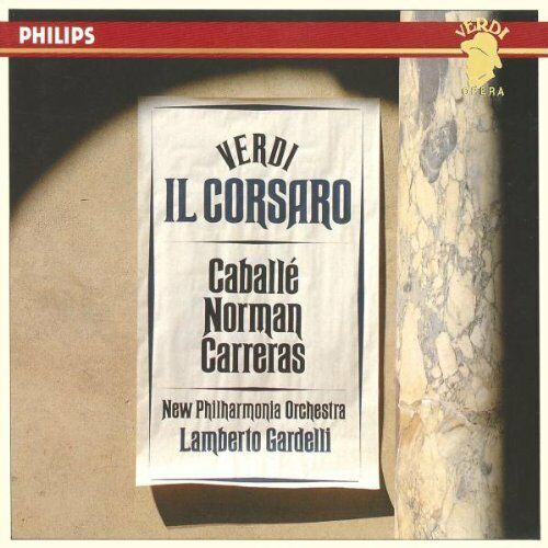 1 of 1 - Made in W. Germany by PDO. Philips CDx2 box set. Verdi: Il Corsaro (1989)