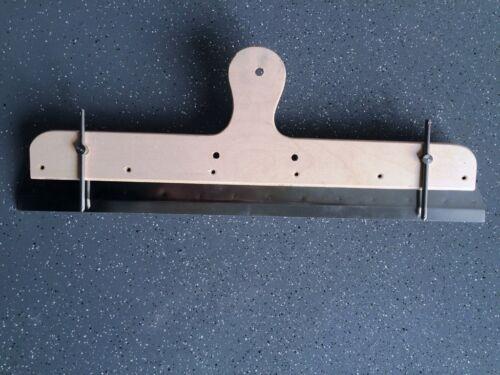 Großflächenrakel mit Distanzstiften Flächenrakel Rakel Rackel für Nivelliermasse