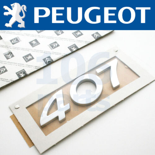 "NEW GENUINE PEUGEOT 206 307 GTI /""180/"" BODY BADGE SILVER 55x11mm"