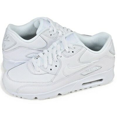 low priced 5c675 95b27 ... coupon code scarpe ragazzi nike air max 90 ltr gs 833412 100 bianco  sneakers pelle nuovo