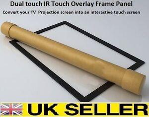 6-points-Touch-IR-Overlay-ecran-Tactile-Cadre-Panneau-interactive-de-32-034-a-82-034-16-9
