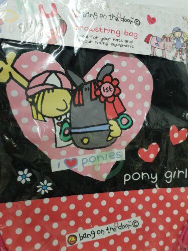 Bang On The Door Pony Girl Swim /& Kit Sac PE Gym Cadeau Femmes Hommes Draw String