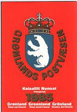 Grönland, Greenland, Briefmarken-Jahresmappe, Jahrgang, Yearset 1985, postfrisch