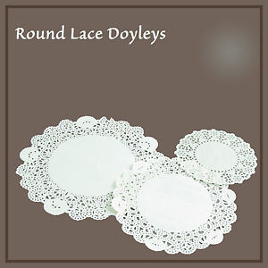 White-Round-Paper-Doilies-4-5-034-6-034-7-5-034-Party-Doily-Lace-Doyleys-Catering-SYD