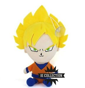 DRAGON BALL Z GOKU SUPER SAYAN PELUCHE pupazzo plush figure dragonball kai gt