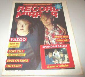 Record-Mirror-Sep-25-1982-Soft-Cell-Yazoo-Diamond-Head-SLF-Spandau-Ballet-Duran