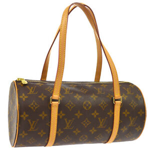 LOUIS-VUITTON-PAPILLON-30-HAND-BAG-PURSE-MONOGRAM-CANVAS-M51385-SP0043-01565