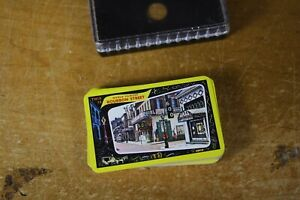 Vintage Playing Cards Deck with Plastic Container Bourbon Street New Orleans